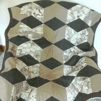 Patchwork Quilt with an Egyptian Theme