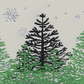Sapins - Christmas Card