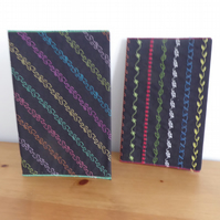 'ZINGY' Lightweight Sketchbook with removable textile slip cover