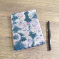 SALE - DIARY - A6 SIZE WITH NEEDLE FELTED SLIP COVER - FREE POSTAGE