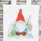 'Norm' Fishing Gnome Tote Bag - Eco Friendly Bag - Shopping Bag - Craft Bag