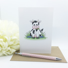 Moo Cow Card - Blank - Any Occasion