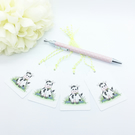 Moo Cow Gift Tags - set of 4 tags
