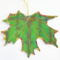 Green Leaf Hanging Decoration