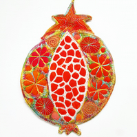 Hanging Pomegranate Decoration