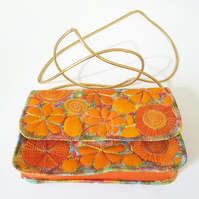 Small Handbag Free Machine Embroidery
