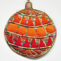 Christmas Bauble Hanging Decoration