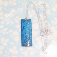 Patinated Copper Pendant Necklace - UK Free Post