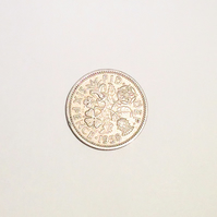 1 x Lucky Sixpence Dated 1958