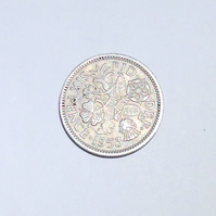 Lucky Sixpence Dated 1953