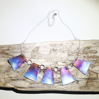Coloured Titanium Necklace - UK Free Post