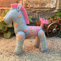 Lolly The Little Hand Embroidered Horse