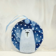 Polar Bear Christmas Tree Decoration
