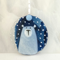 Polar Bear Christmas Decoration