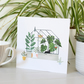 Greenhouse Garden Lovers Blank Greetings Card