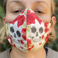 Triple Layer Skull Face Covering