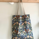 Strawberry thief tote bag