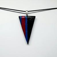 Abstract pendant necklace