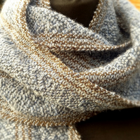 Winter Morning Handwoven Scarf