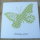 Thinking of you butterfly card