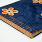 Flower cover photo album with Japanese stab binding