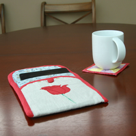 Fairytale Beauty and the Beast Wallet style tablet case.
