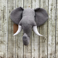 Wall mounted Elephant head