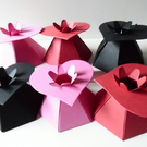 9 Assorted HEART Top Favour Boxes Gift Box, Weddings, baby shower