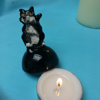 Black Cat Candle Snuffer
