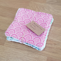 Reusable Face Wipes (Floral)
