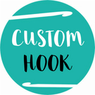 Custom Design Made to Order Ergonomic Crochet Hook