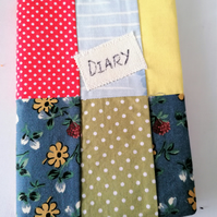 Fabric Cover Diary A6