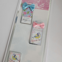 A little birdie told me....It's your birthday handmade greeting card