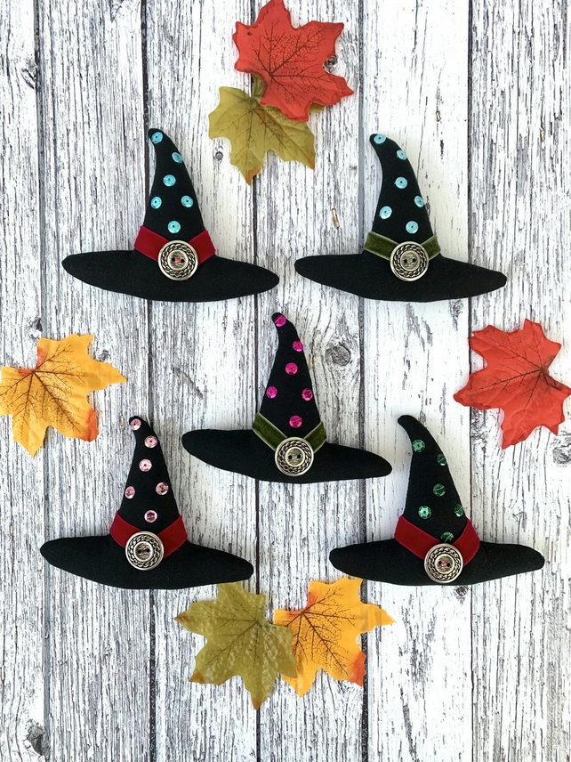 Witches Hat hanging decoration