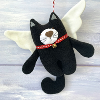 Angel Cat Decoration
