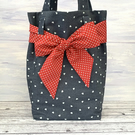 Softly padded Tote with Bow