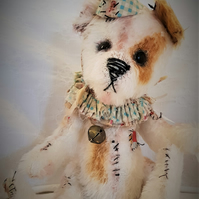 Sewing Kit to create 13 inch Mohair Dog Bear Kit