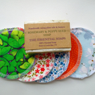 Reusable Face Wipes, Cotton, Scrubbies, Make-up Remover, Wipe, Christmas