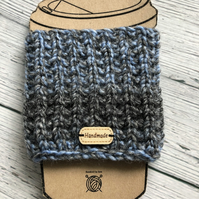 Knitted Travel Reusable Cup Cosy
