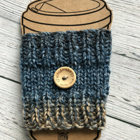 Knitted Travel Cup Cosy