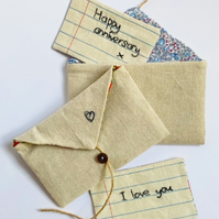 Personalised fabric note
