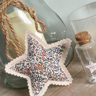 Fabric star door hanger gift, hanging star, star decoration