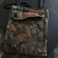 recycled cloth bag - camouflage handbag