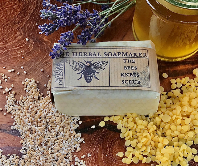 The Bees Knees Scrub Soap - best seller