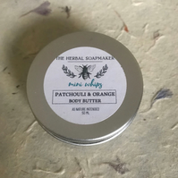 NEW MINI WHIPS! Patchouli & Orange Whipped Body Butter 50ml