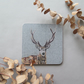 Stag coaster