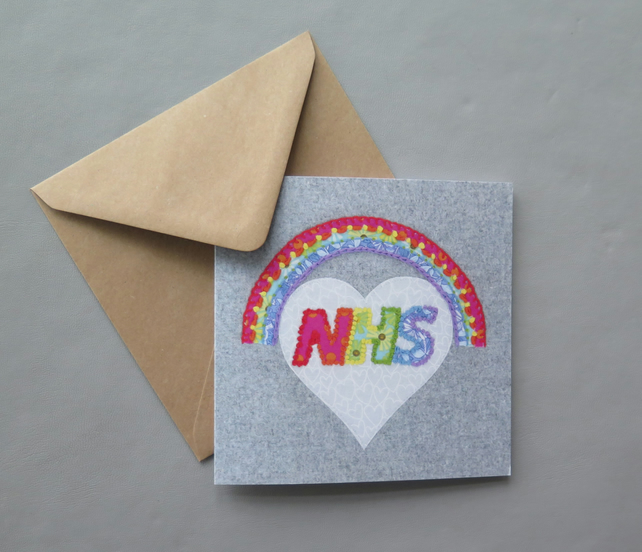 NHS Rainbow Charity card