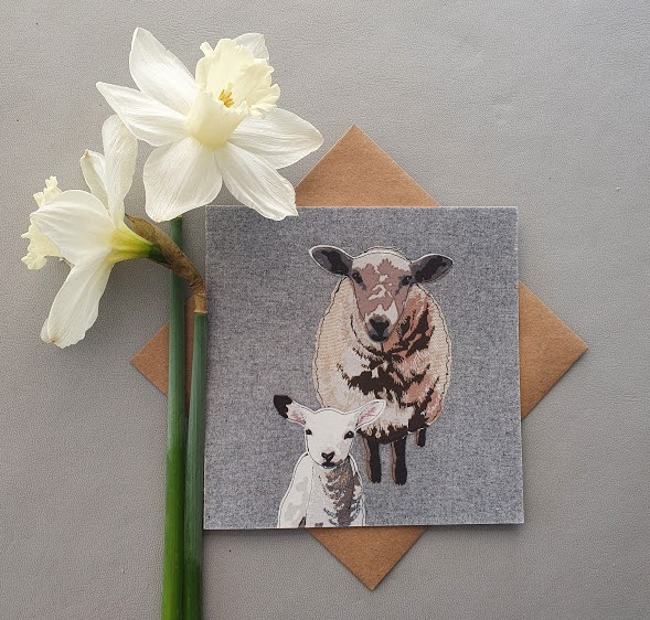 Sheep & lamb card