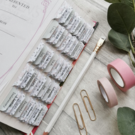Blush Roses Watercolour Bible Tabs