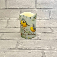 Garden Bird Flameless Candle